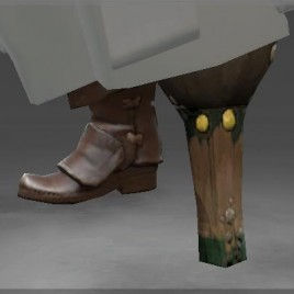 Pegleg of the Cursed Pirate