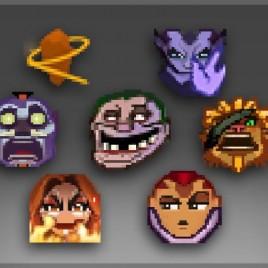 The International 2015 Emoticon Pack II
