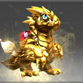 Wyvern Hatchling Golden