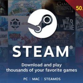 Steam wallet 50.000 VND